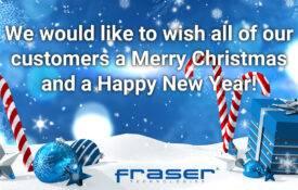 Fraser Technologies Christmas opening hours