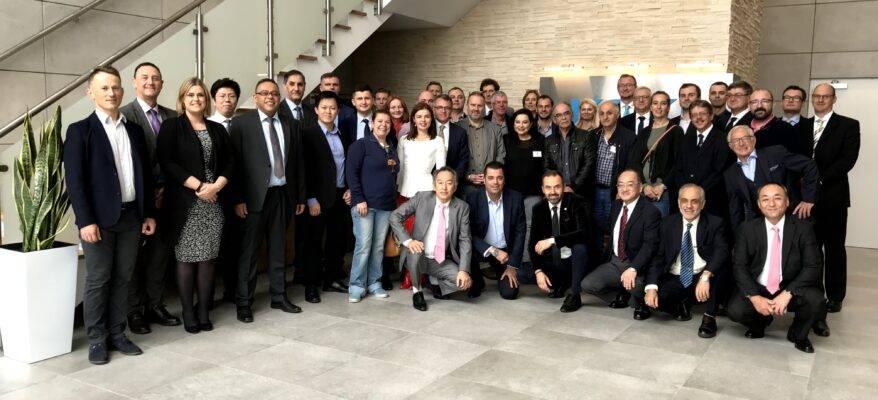 A group image of Fraser Technologies partner organisation, KOKI