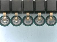 Superior wetting when using Koki 72M solder wire
