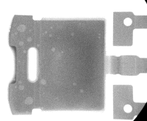 G803 voiding results within a solder joint