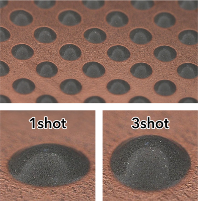 image of jetting paste examples